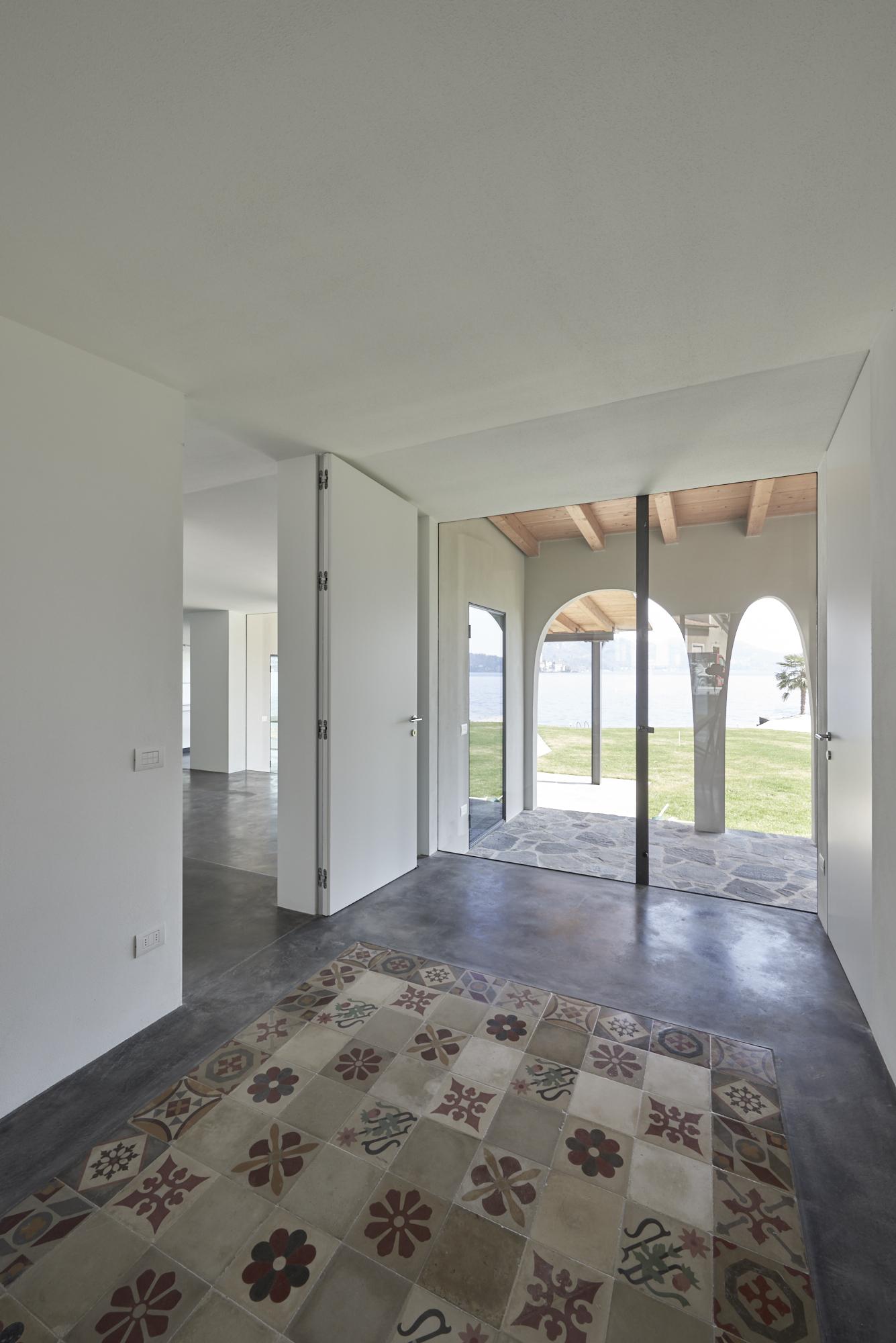 Umbau Villa am See Pella: Erdgeschoss Umbau