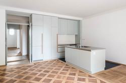 Umbau Wohnhaus Zürich: 4-Zimmer Gartenwohnung (Bild Simon Fässler)