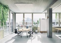 Richtprojekt Ziegelei Berg: Büroraum