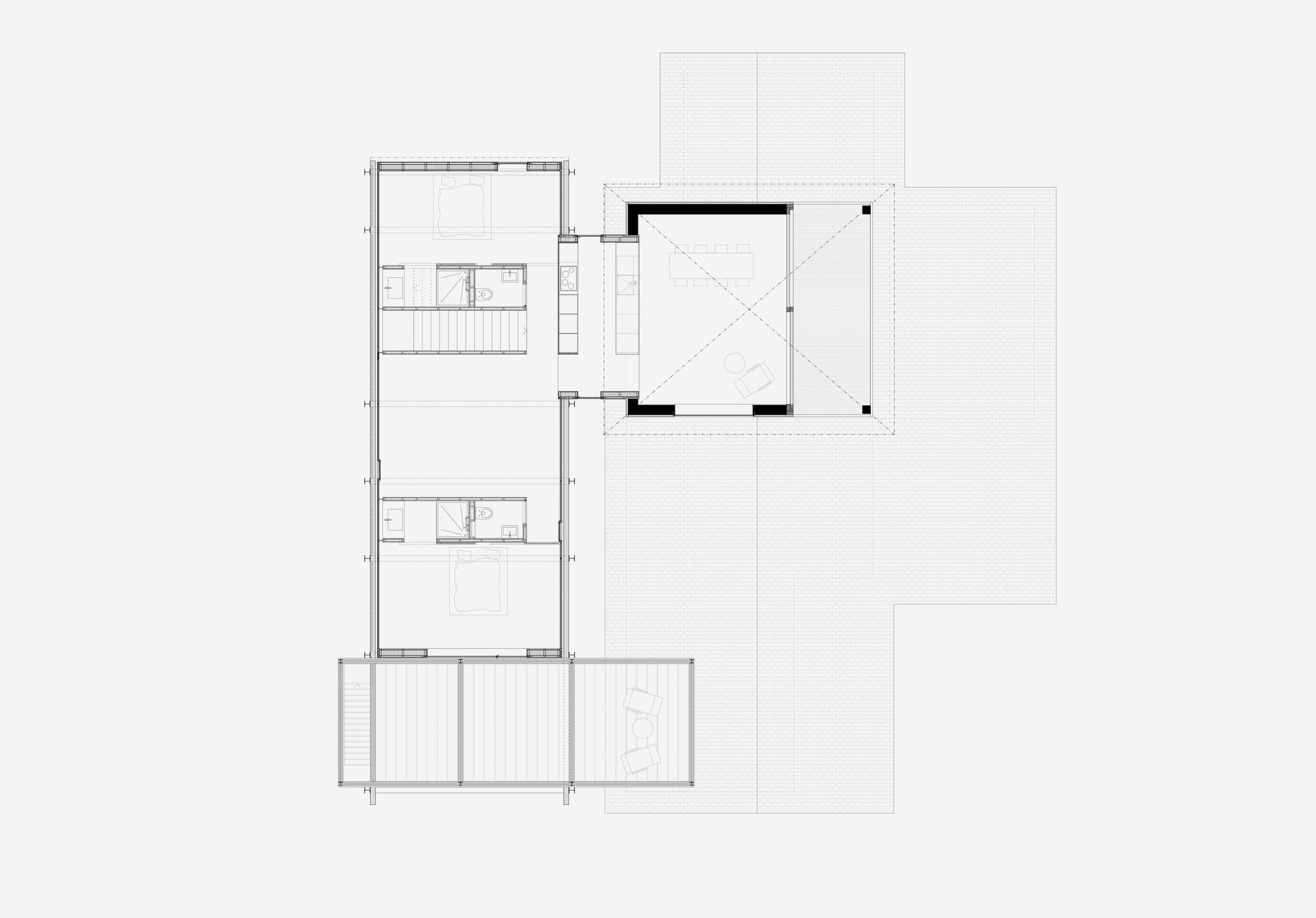 Umbau Villa am See Pella: Obergeschoss