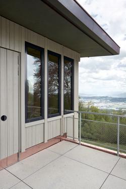 Sanierung Bergrestaurant Lägern Hochwacht: Blick ins Furttal