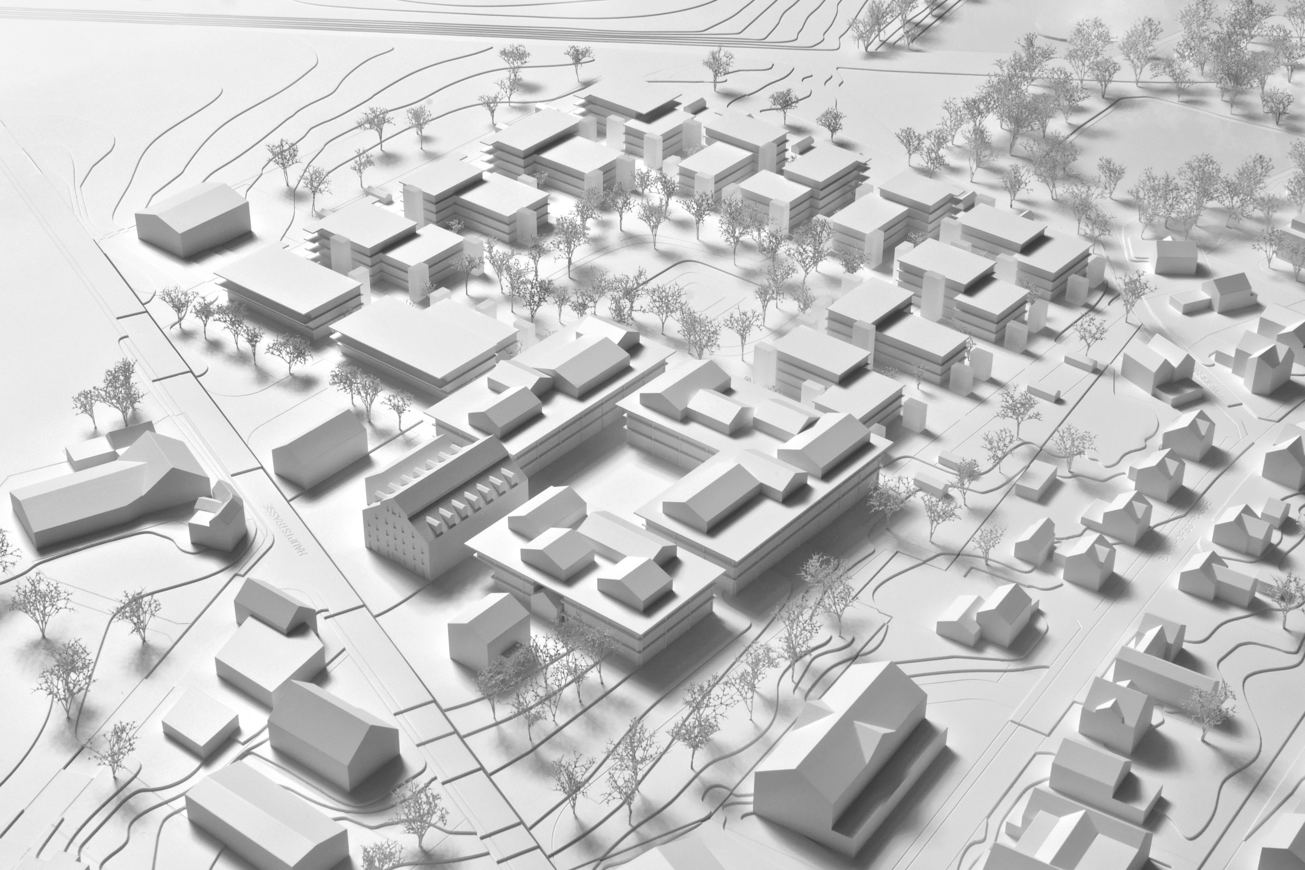 Richtprojekt Ziegelei Berg: Modell (Gruber Forster Modellbau)