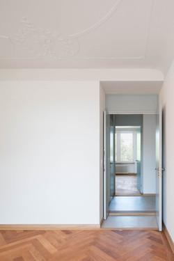 Umbau Wohnhaus Zürich: 3-Zimmer Wohnung (Bild Simon Fässler)