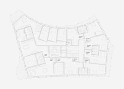 Neubau Wohnhaus Forelhausstiftung Zürich: Regelgeschoss