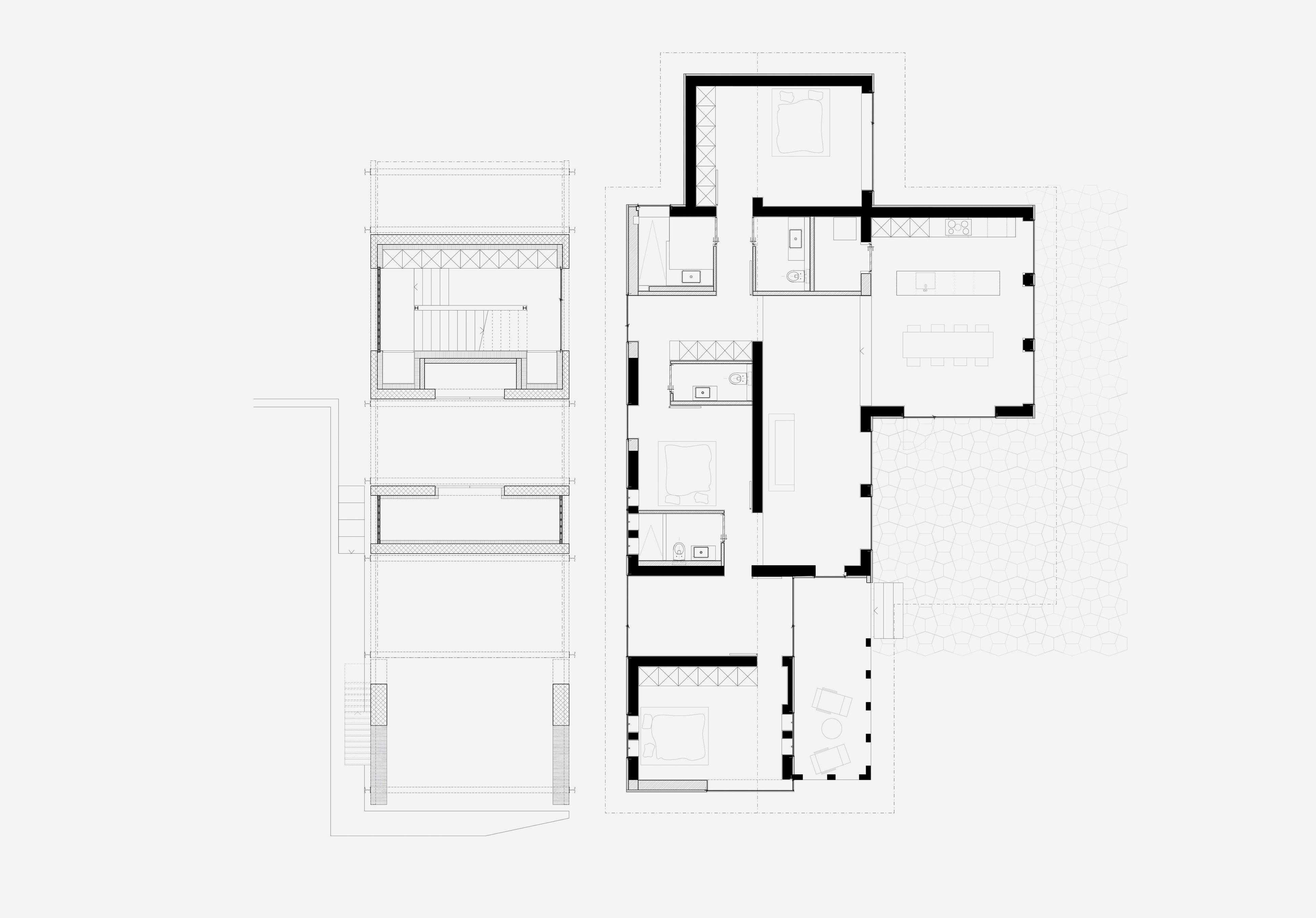 Umbau Villa am See Pella: Erdgeschoss