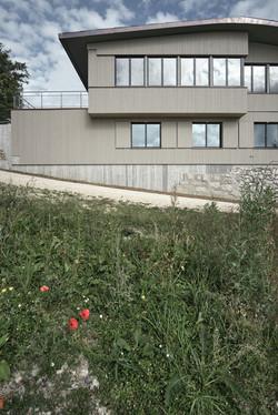 Sanierung Bergrestaurant Lägern Hochwacht: Südfassade