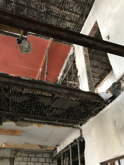 Umbau Wohnhaus Zürich: Bauzustand (Bild Laternser Waser)
