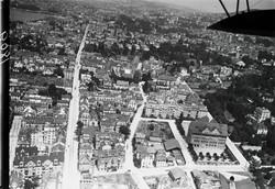 Umbau Wohnhaus Zürich: Luftbild 1919 (Bild Walter Mittelholzer)