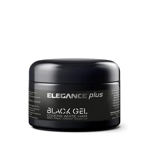 Hair Styling Gel Plus Black Color