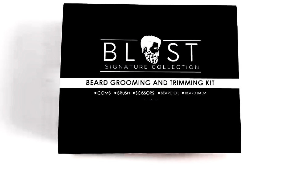 Blast Beard Grooming & Trimming Kit