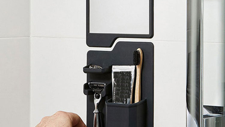 Silicone Shower Bathroom Organizer