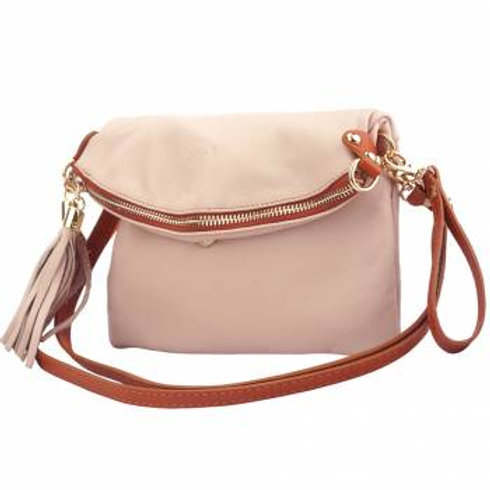 Convertible Clutch/Small Hobo Bag (Pink)