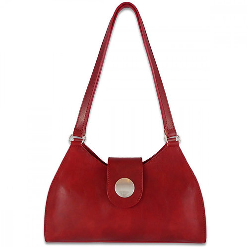Tuscany Button Bag - Red
