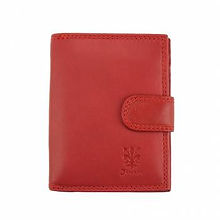Italian Leather Red Wallet