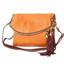 Cognac Cross Body Bag