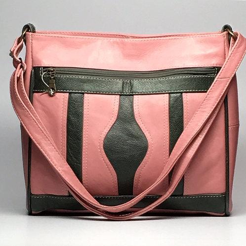 Moroccan Pink & Green Shoulder Bag