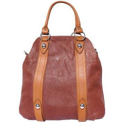 Chic Shoulder Bag (Brown/Tan)