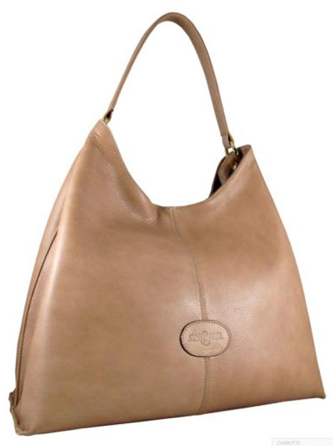 Carbotti Catherine Elegant Hobo Bag (Tan)
