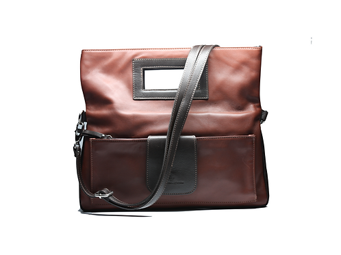 Tuscany Window Bag (Brown)