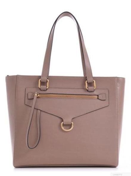 Carbotti Claire Elegant Handbag (Taupe)