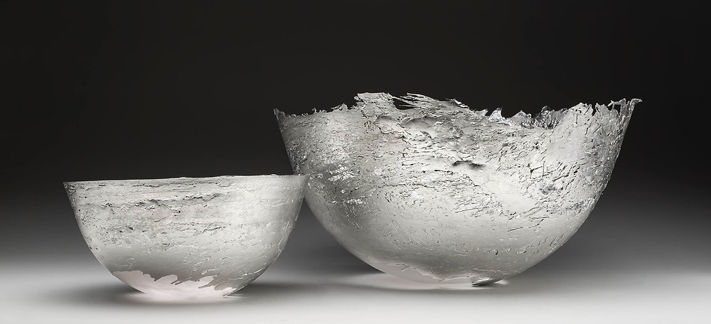Pewter bowls