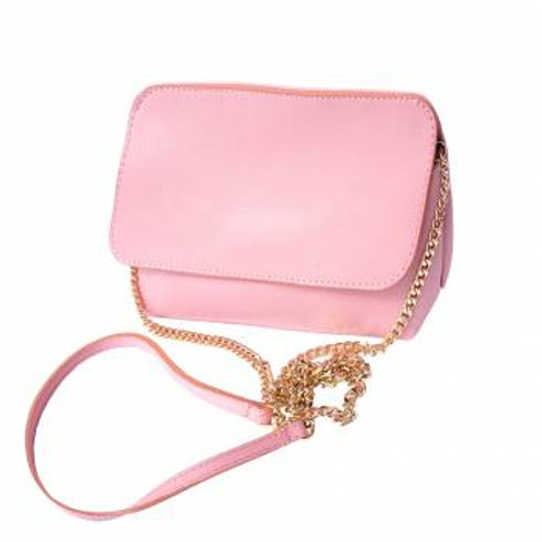 Convertible Shoulder/Clutch (Pink)