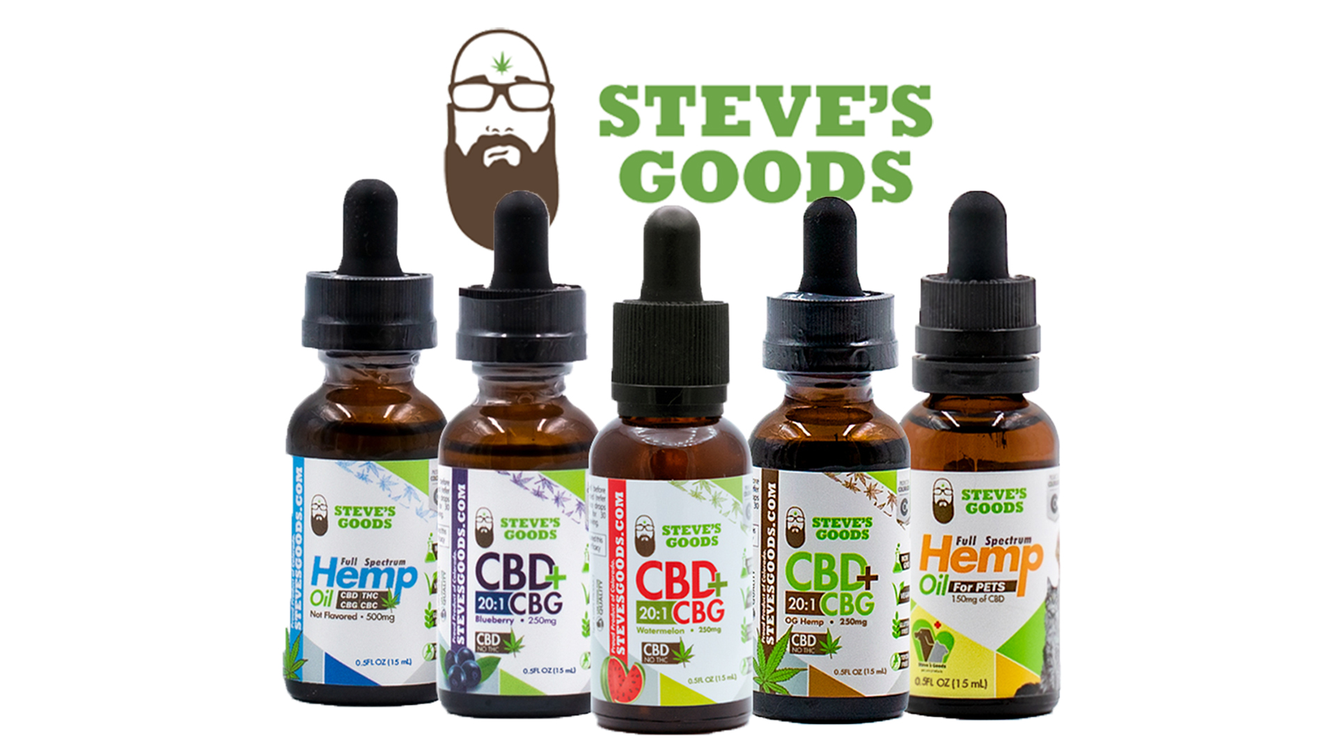 Steve's Goods CBG Hemp Oil