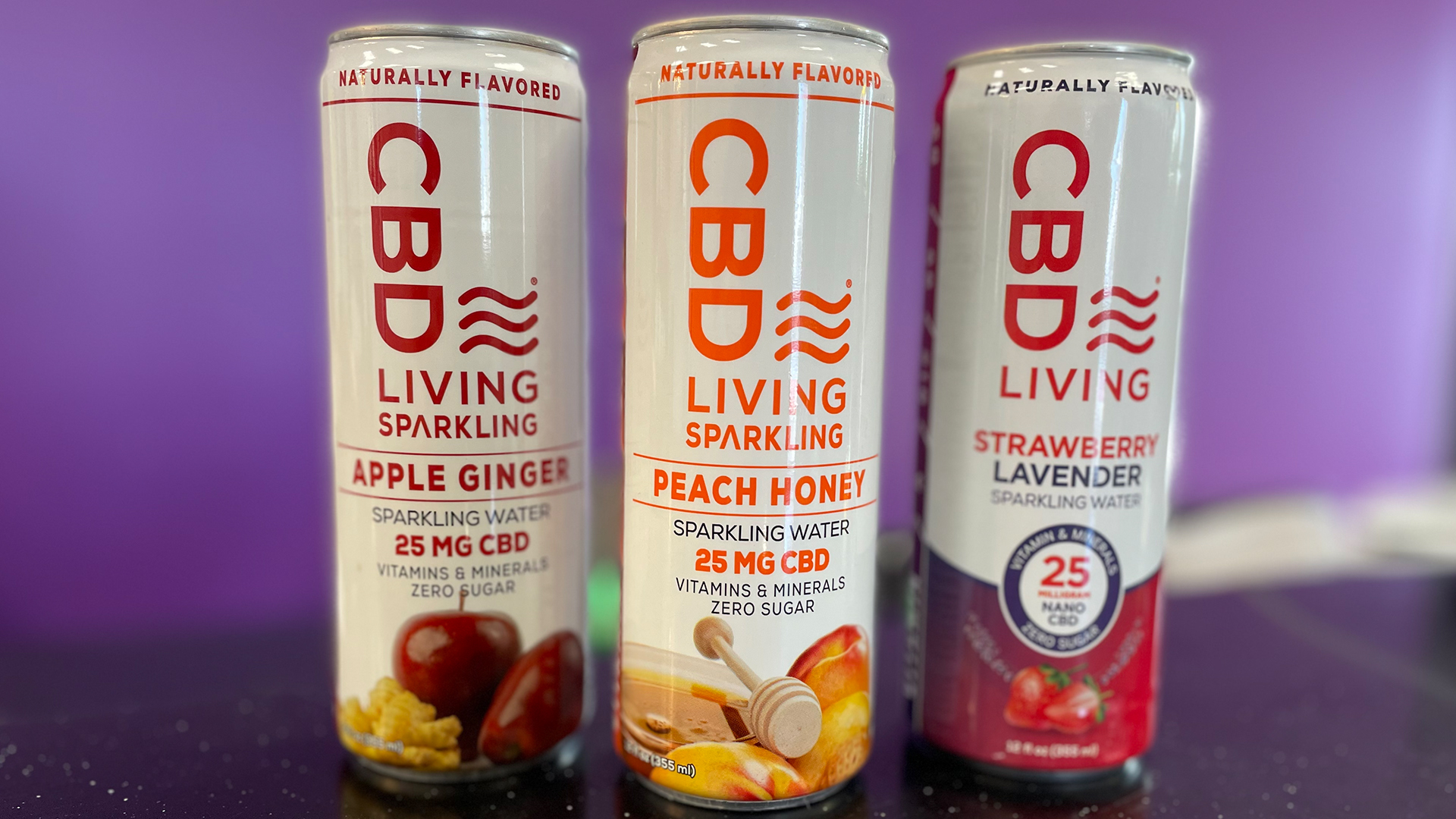 CBD LIVING SPARKLING
