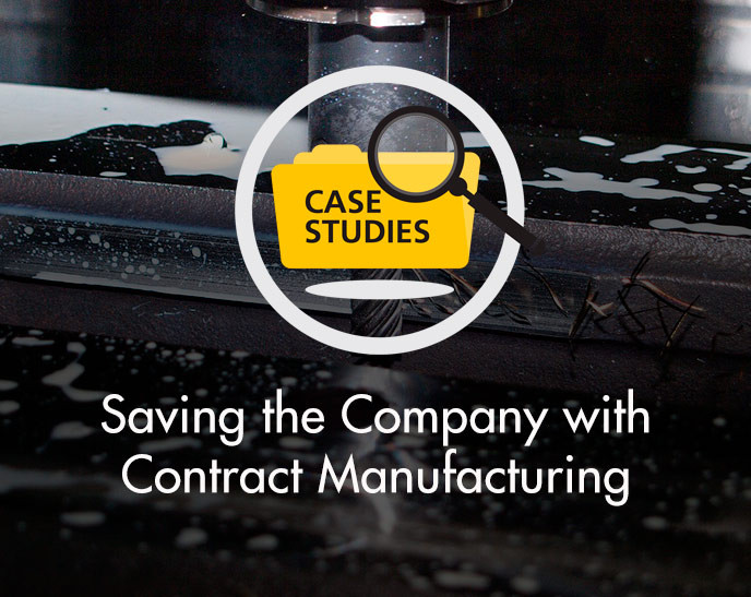 Case Study - Saving the Company with Contract Manufacturing