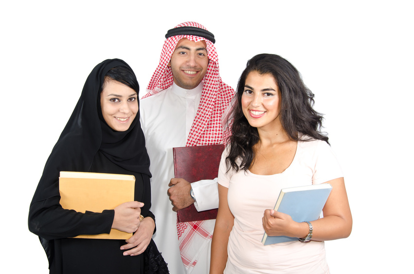 Arabic students