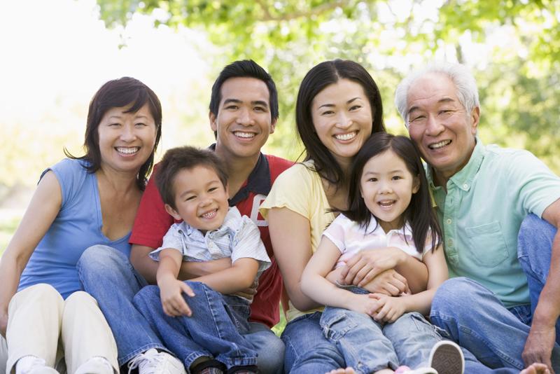 asian-family