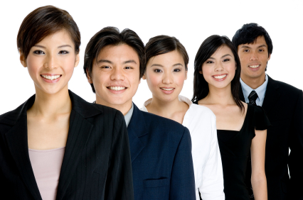 Asian-business-executives