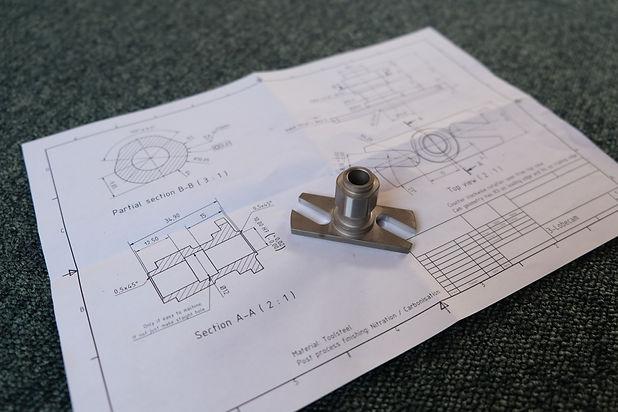 Fiat Dino part engineering