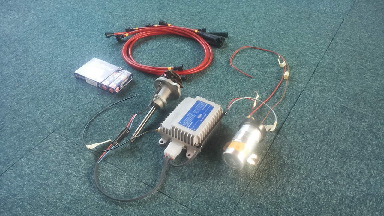 Fiat 130 electronic ignition conversion