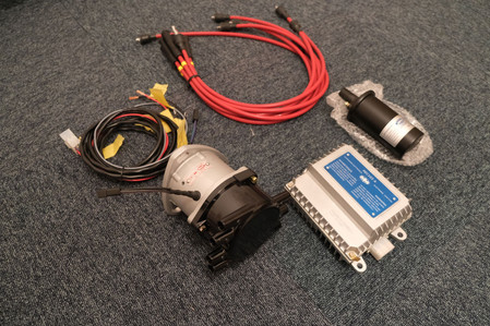 Fiat Dino programmable ignition system