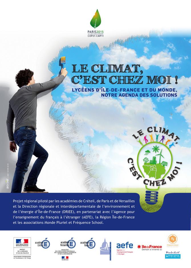 """Lancement du site EDD : découvrez le projet """"le climat c'est chez moi!"""""""