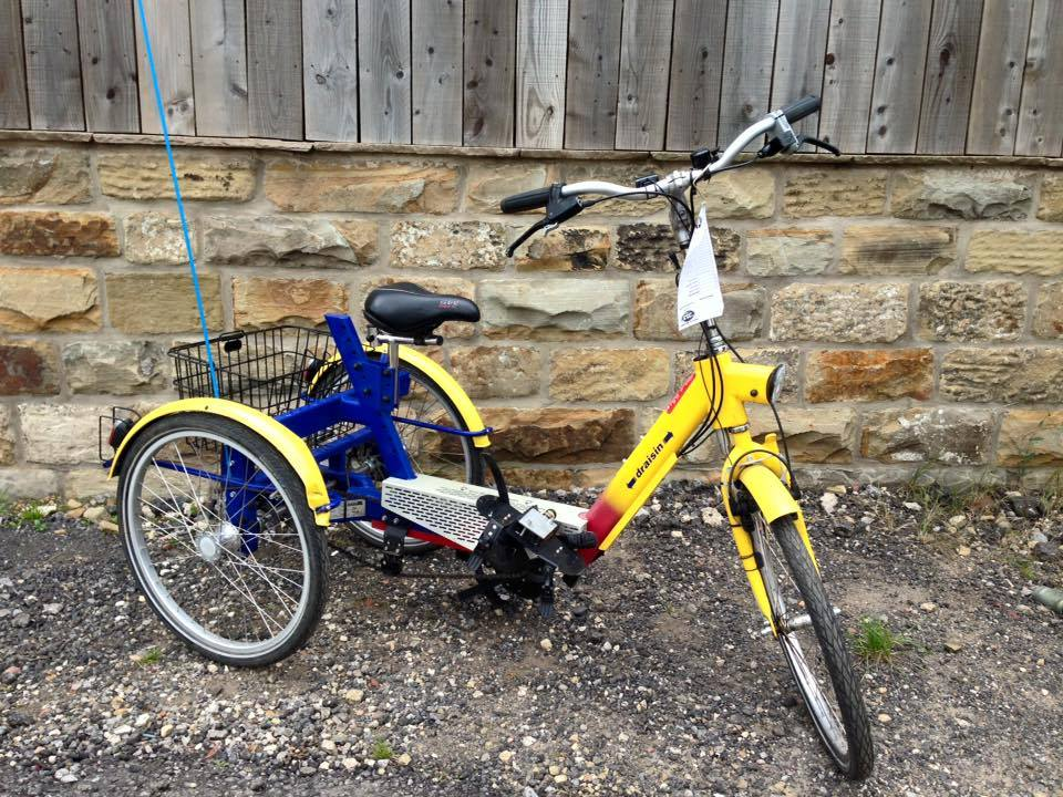 26 wheel trike