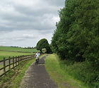 south yorkshire trans pennine trail views landscapes holmfirth sunset cycling routes location