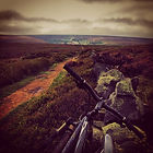 south yorkshire landscapes images photography cycle penistone cic cycling views bike moors