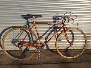 Revival of retro Raleigh road bikes