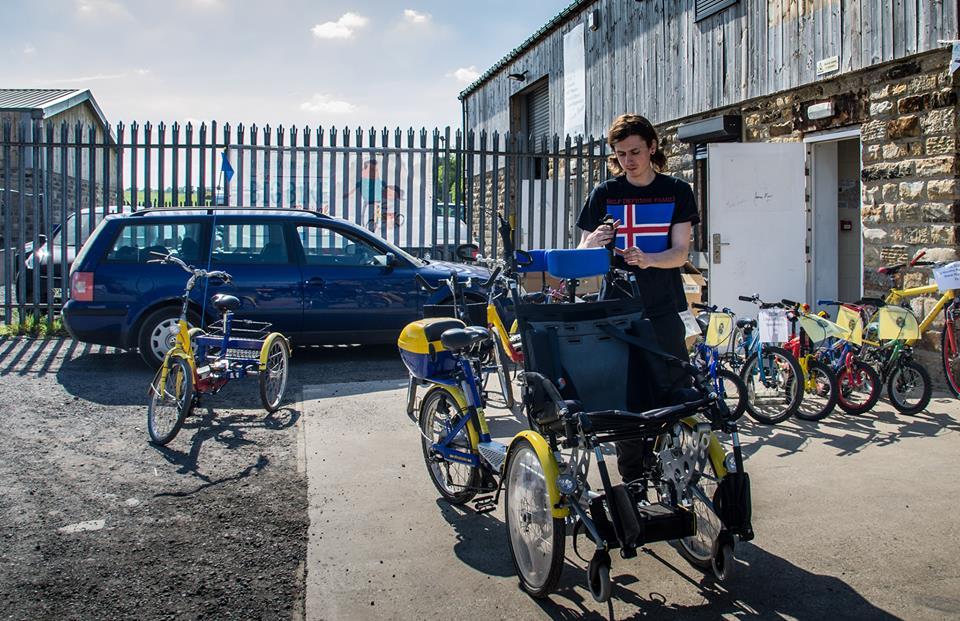 inclusion bike tandem