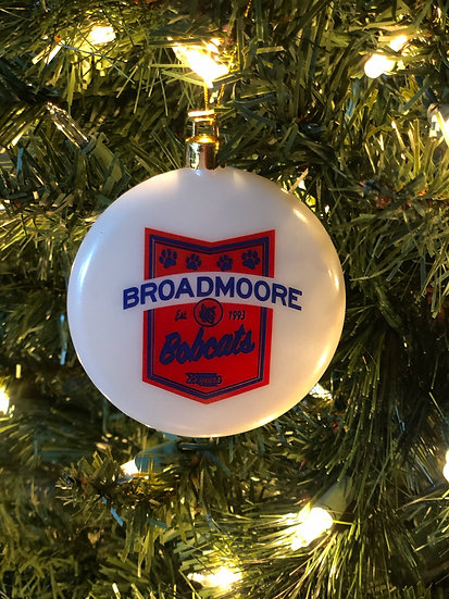 2018 BROADMOORE Christmas ornament