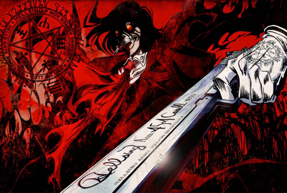 Halloween Special! Top 10 Anime Shows To Watch Or Start Watching On Halloween - Hellsing Ultimate