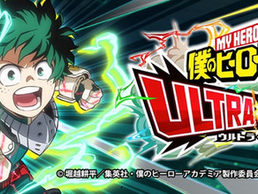 My Hero Academia Ultra Impact Video Game Announced