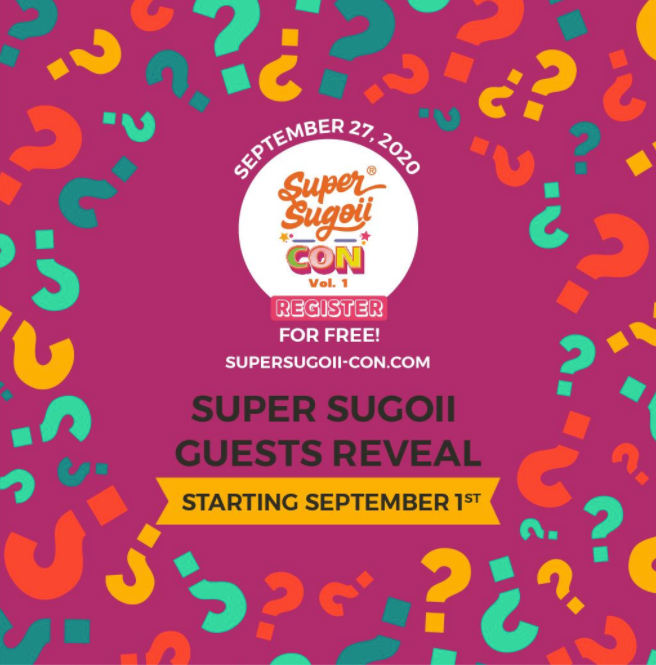 Super Sugoii Con To Reveal Its Guest List In September!