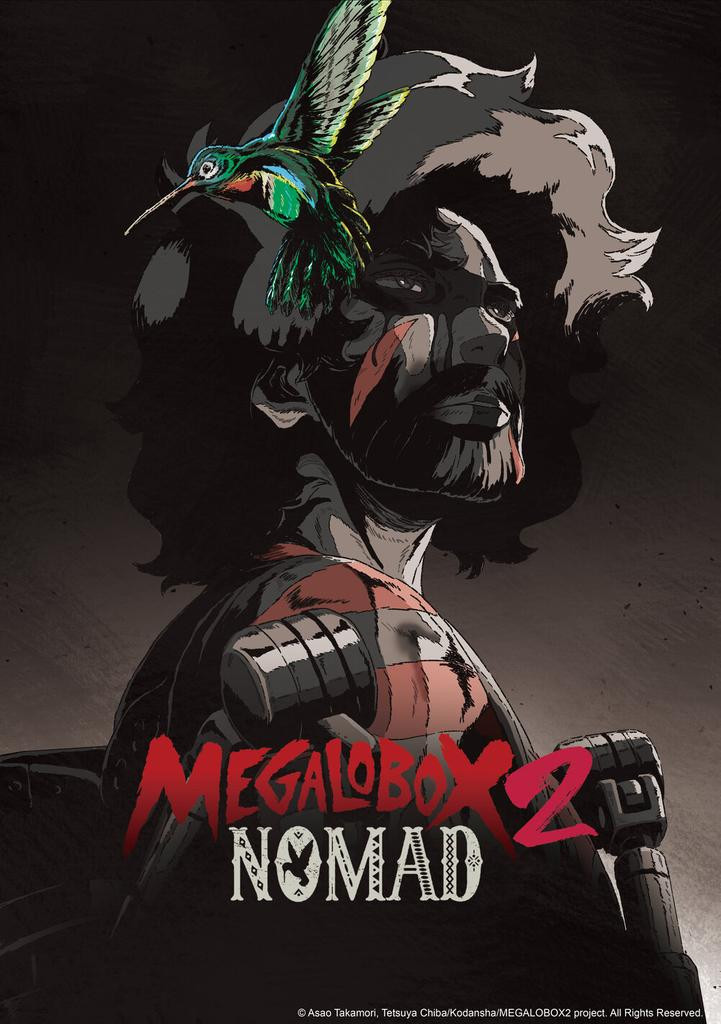 Megalo Box 2: Nomad Reveals New Trailer, Key Visual, and April 4 Premiere