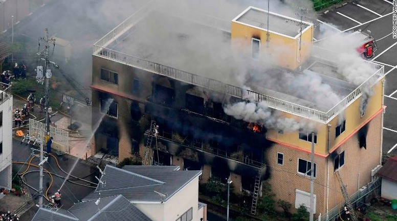 Kyoto Animation Arson Suspect to be Indicted on Murder, Other Charges