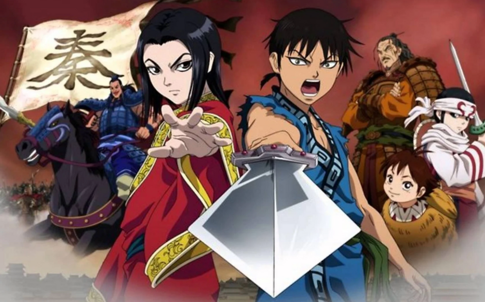 Kingdom: Manga Series Written by Most Number of People
