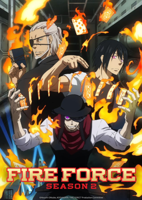 Fire Force Releases New Poster For Second Season