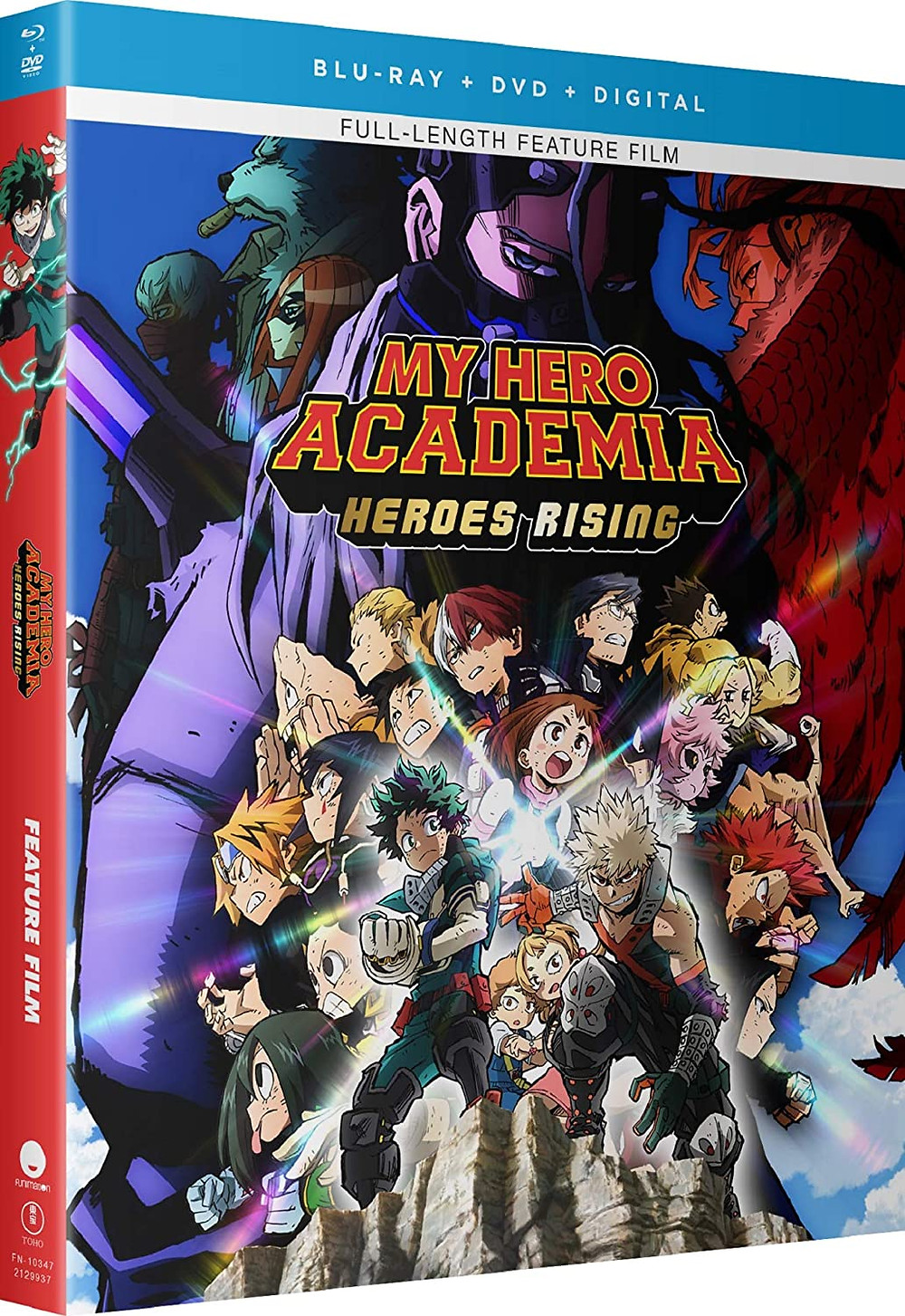 My Hero Academia: Heroes Rising and SAO: Alicization Blu-Ray, DVD Release on Monday, 26 October 2020